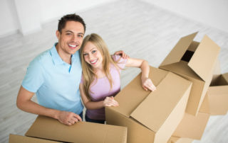 couple moving to new place