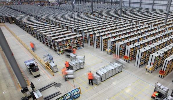amazon 3PL warehouse