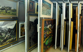 paintings storage